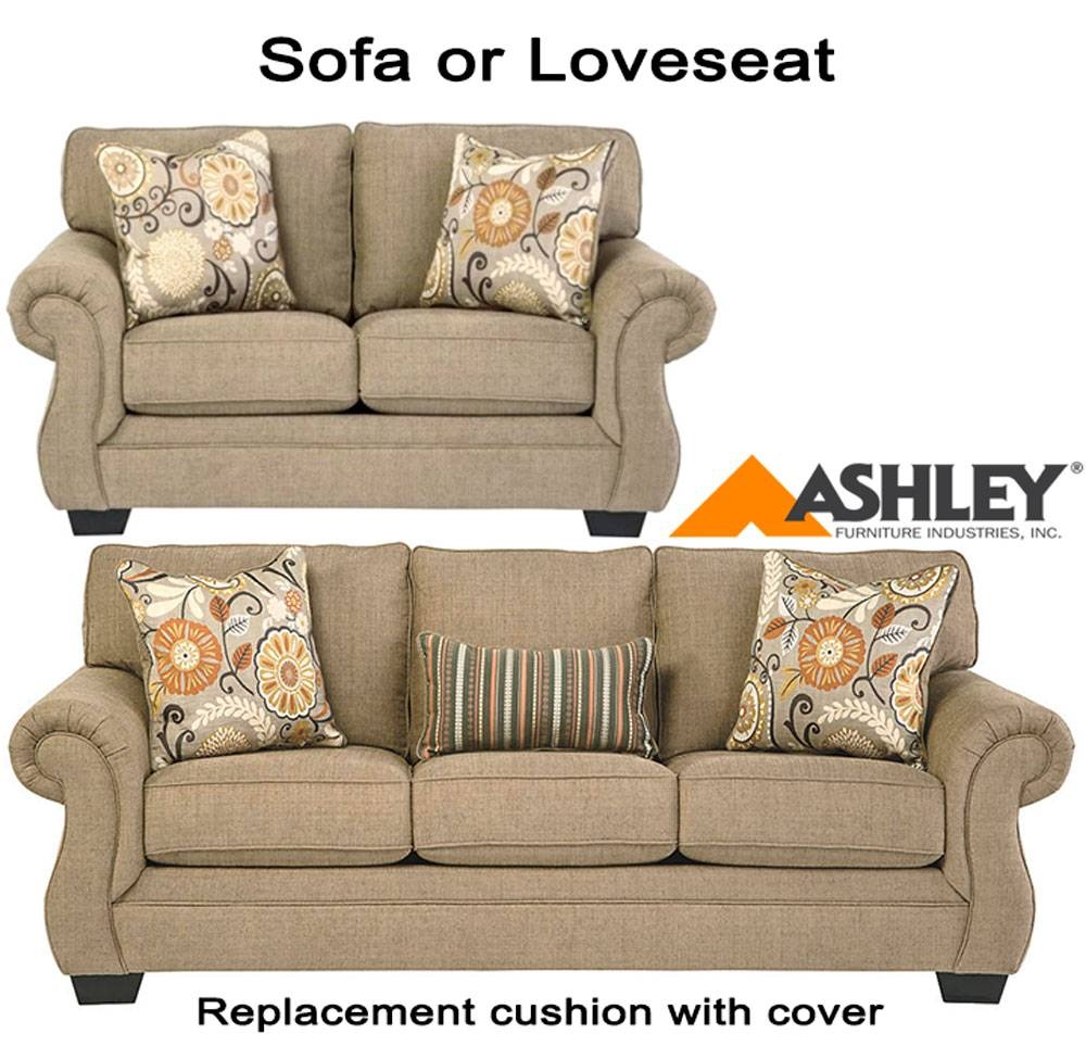 Ashley® Tailya Replacement Cushion Cover, 4770038 Sofa Or 4770035 Love pertaining to Sofa Cushions (Image 6 of 30)