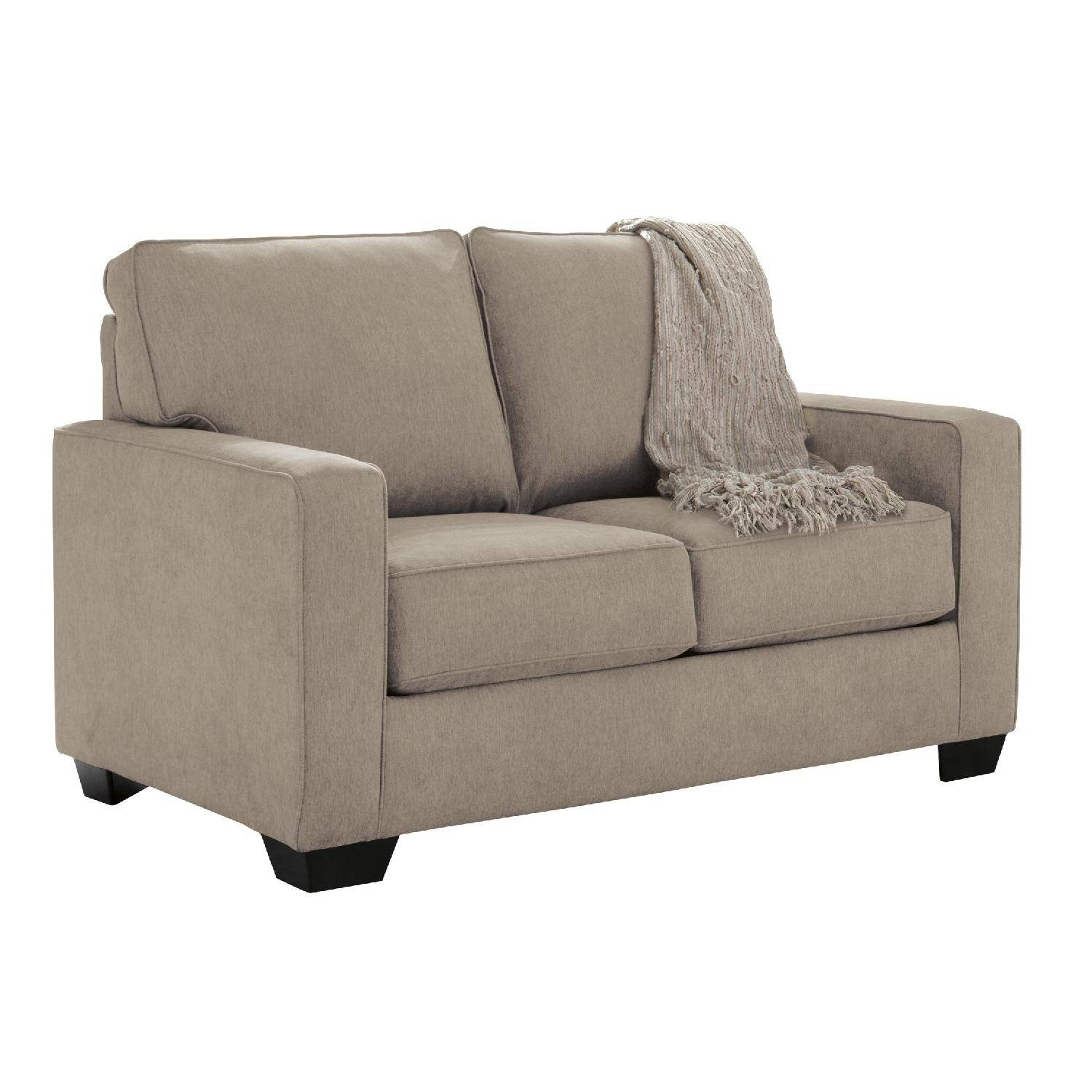 Ashley's Zeb Contemporary 2 Seater Twin Sleeper Sofa In - Aptdeco within Twin Sleeper Sofa Chairs (Image 1 of 30)