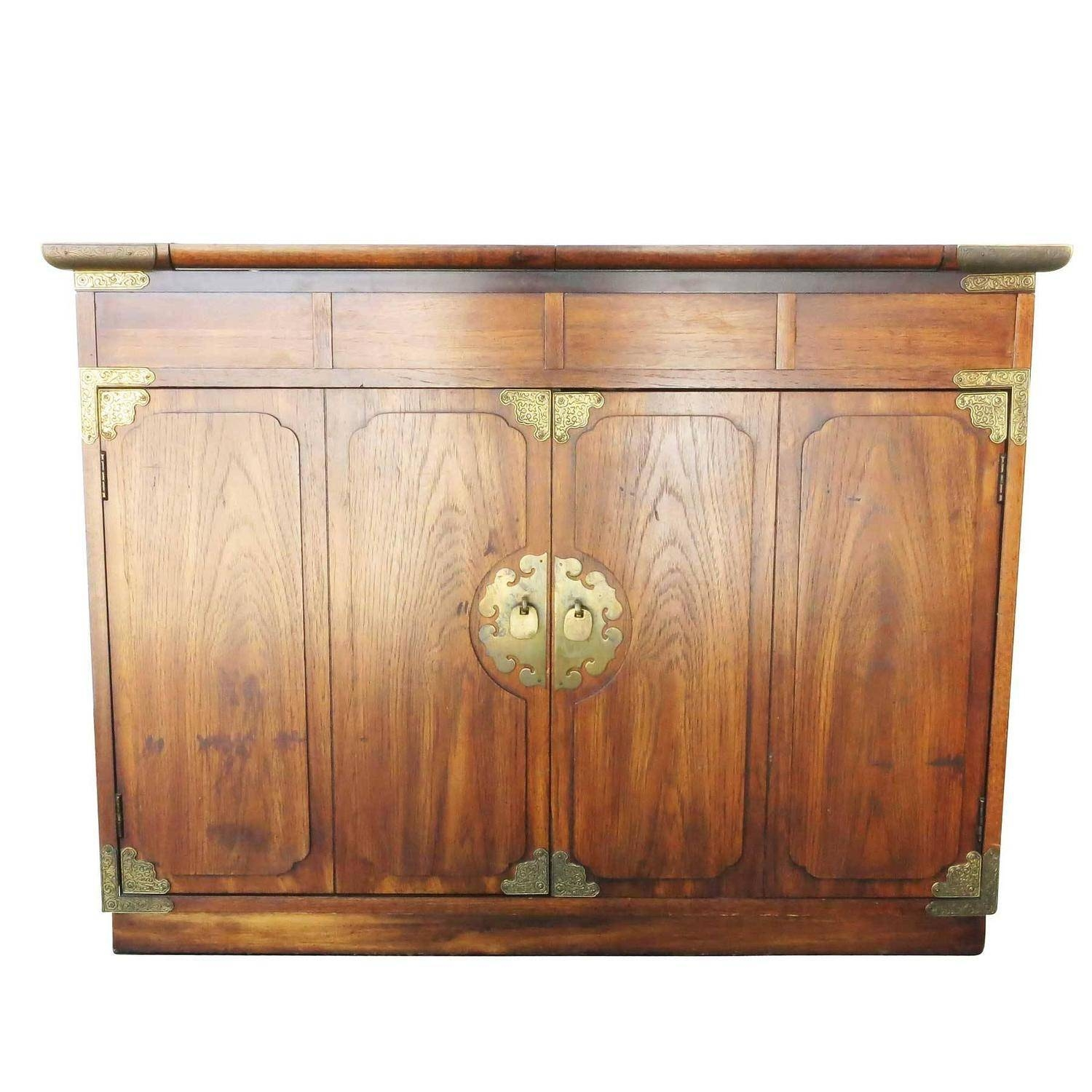 Asian Inspired Small Credenzathomasville For Huntley | Modernism throughout Asian Sideboards (Image 15 of 30)