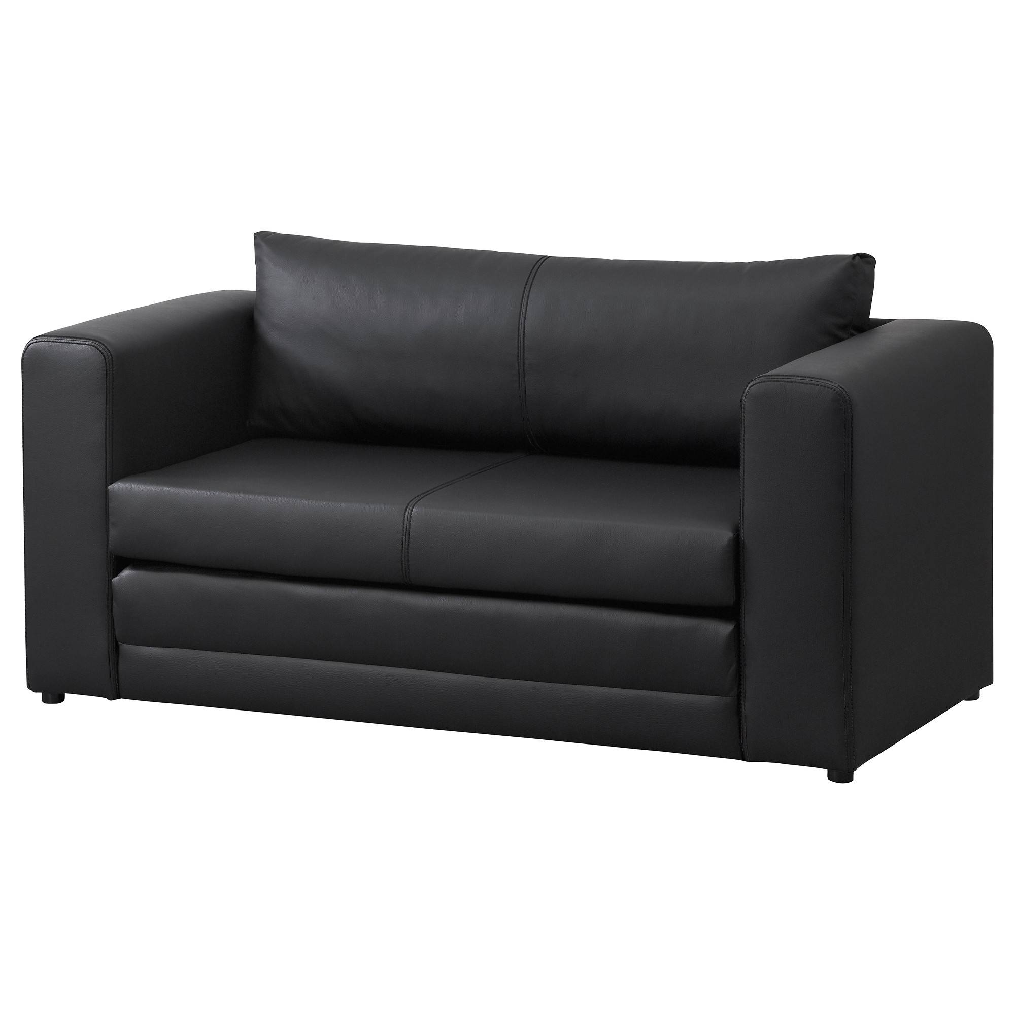 Askeby Two-Seat Sofa-Bed Black - Ikea inside Ikea Single Sofa Beds (Image 1 of 30)