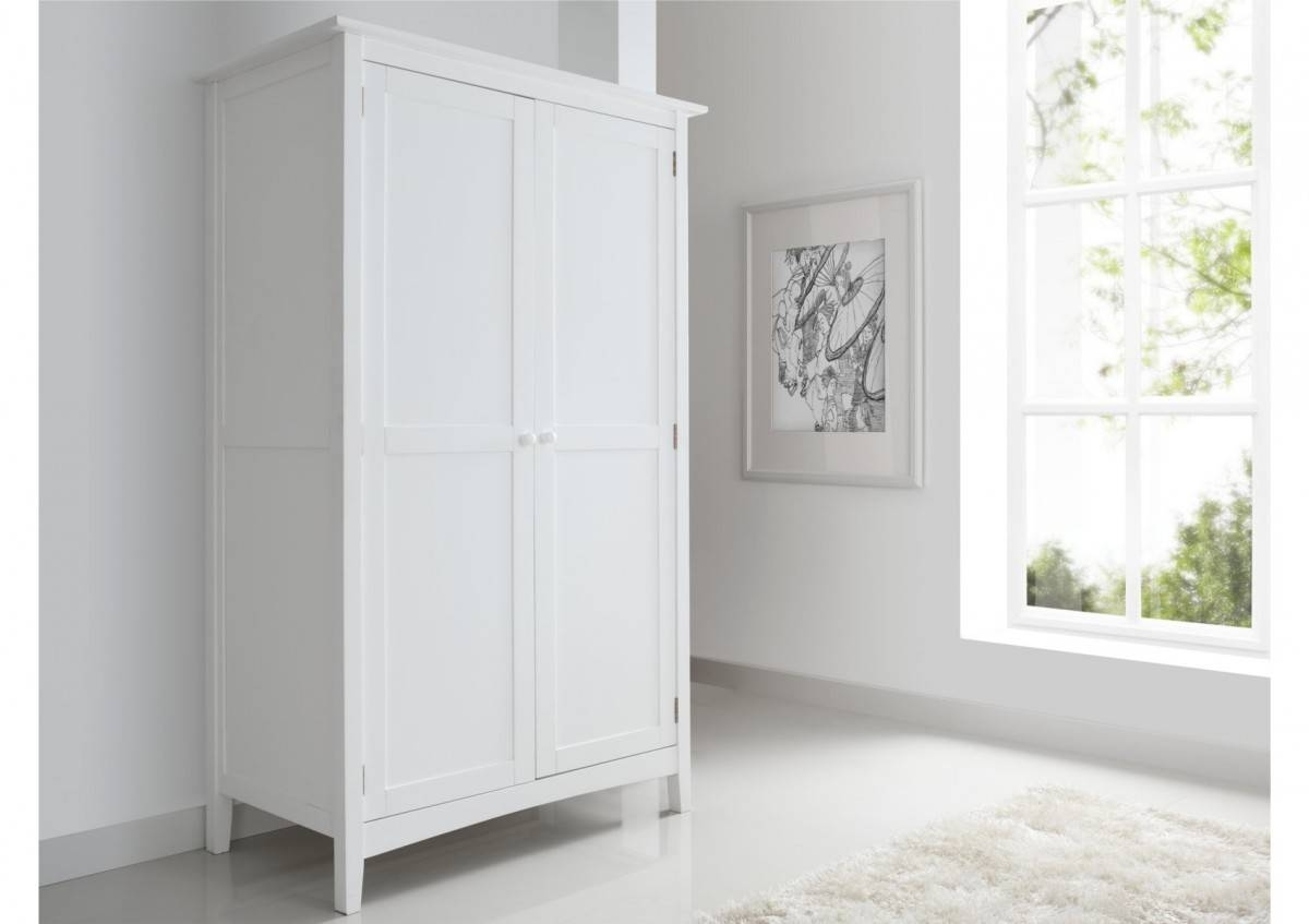 Aspen 2 Door, 1 Drawer Wardrobe - Wardrobes - Furniture within Cameo 2 Door Wardrobes (Image 4 of 15)