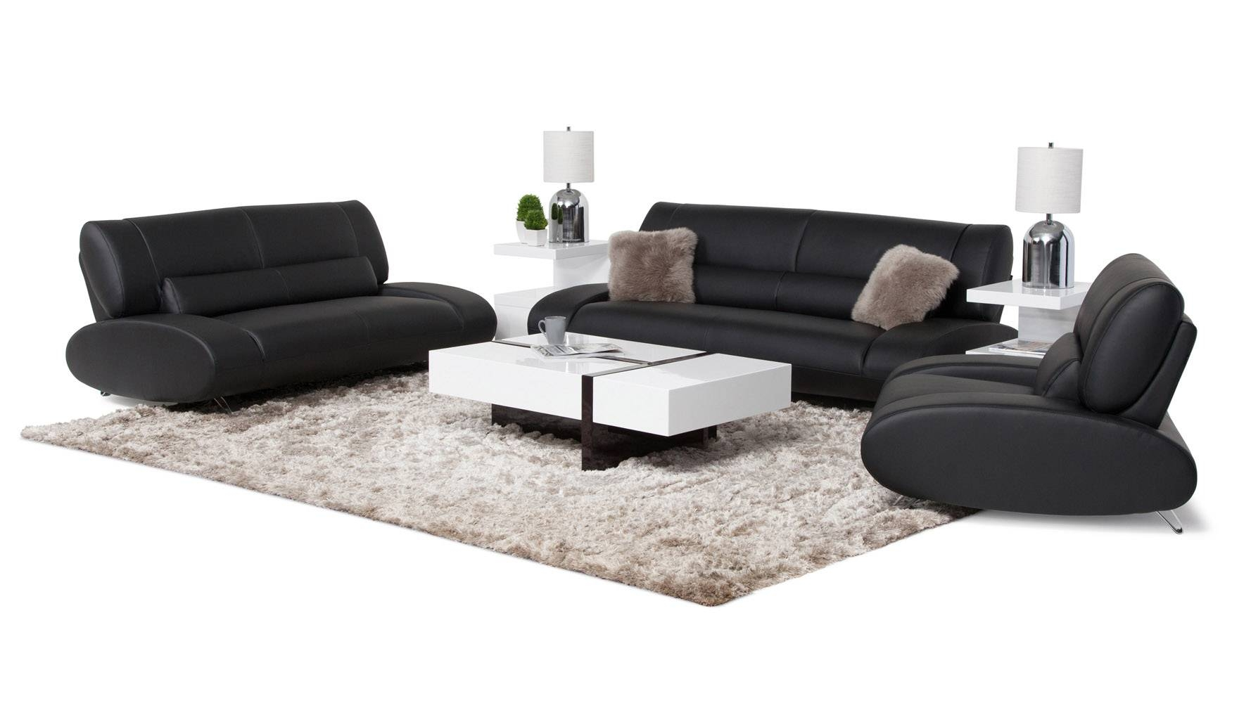 Aspen Group | Zuri Furniture with Aspen Leather Sofas (Image 7 of 30)