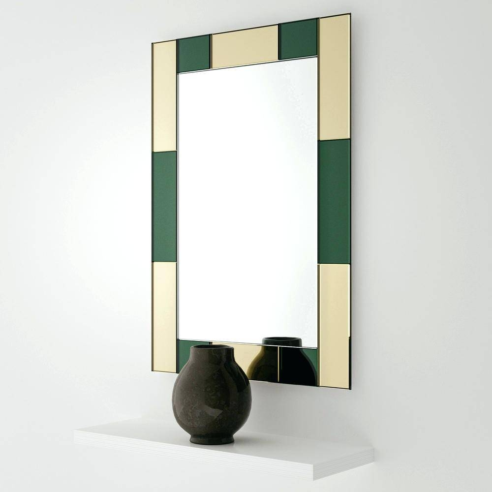 Aspire Asher Colorful Wall Mirrorcolorful Mirrors Cream Color pertaining to Bright Coloured Mirrors (Image 9 of 25)