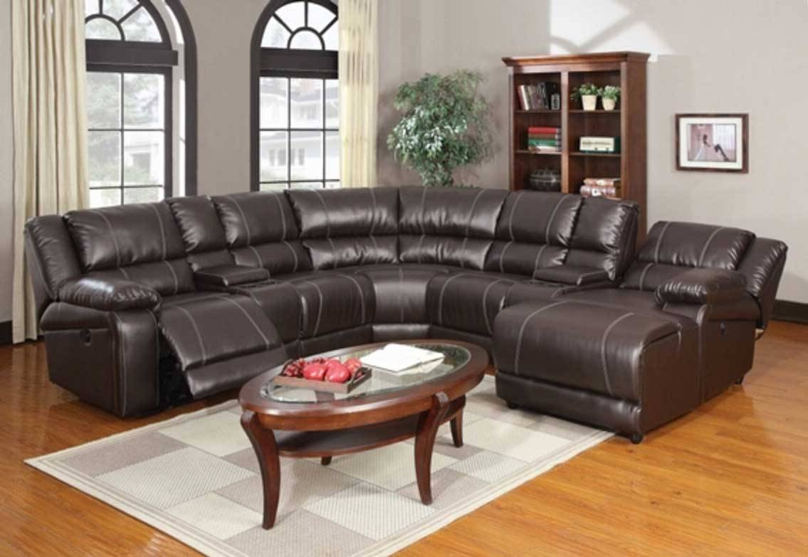 Astonishing Leather Motion Sectional Sofa 24 For Your Media Room for Media Room Sectional Sofas (Image 2 of 25)