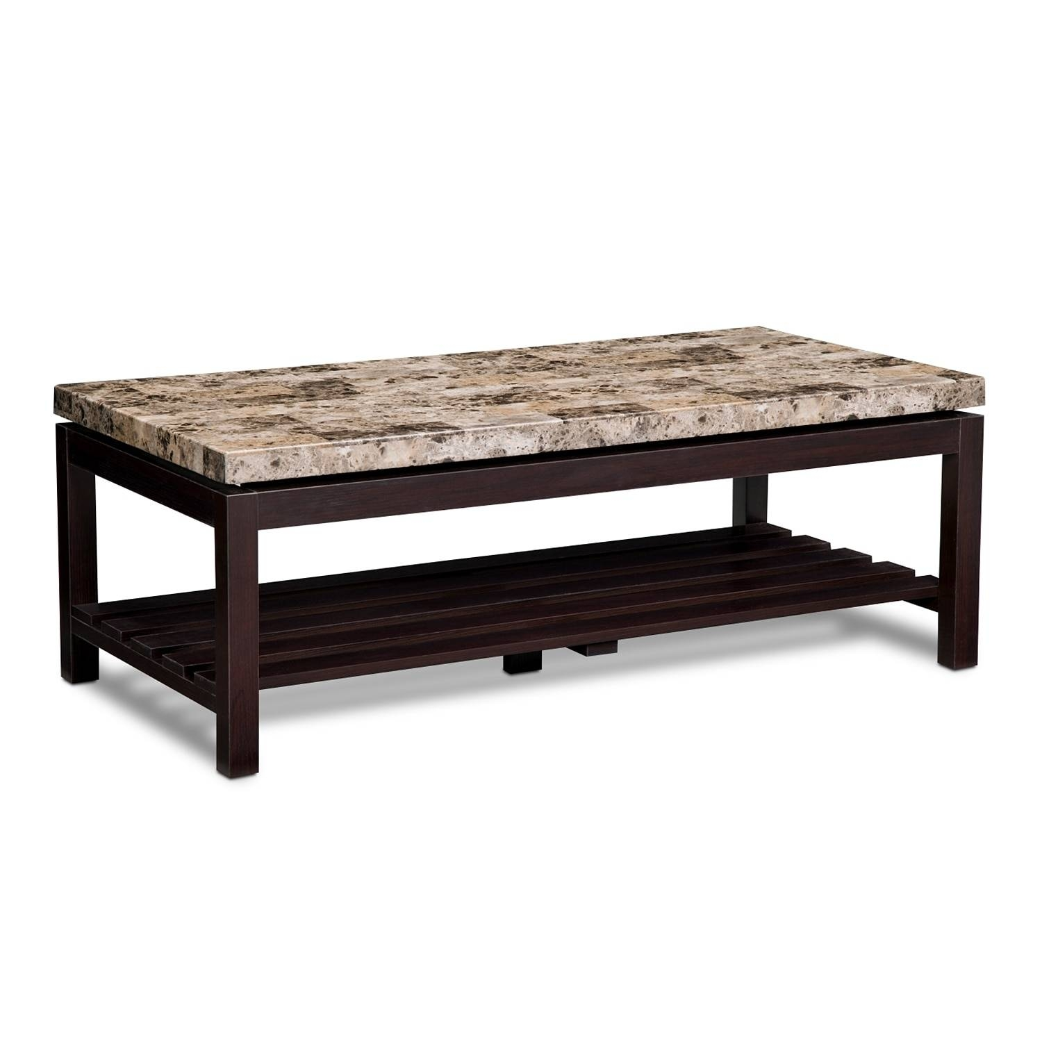 Audra Cocktail Table - Merlot | Value City Furniture intended for Monterey Coffee Tables (Image 3 of 30)