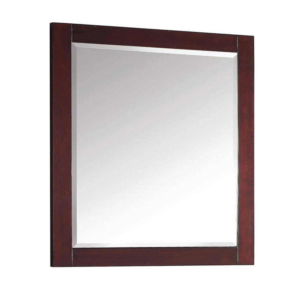 Avanity Modero 28 In. W X 32 In. L Freestanding Mirror In Espresso for Free Standing Mirrors (Image 3 of 25)