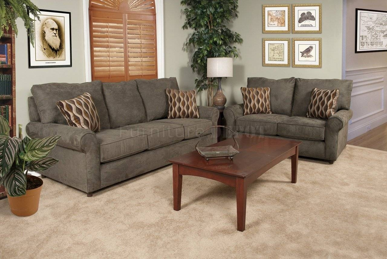Awesome Couch And Loveseat Sets | Homesfeed pertaining to Sofa Loveseat and Chairs (Image 3 of 30)