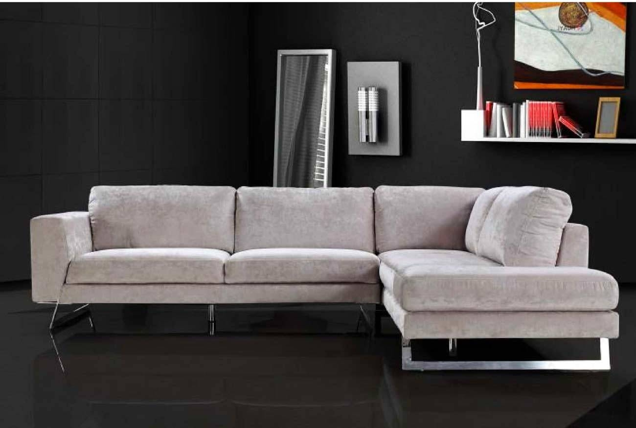 Awesome Modern Microfiber Sectional Sofas 13 On Short Sectional with Modern Microfiber Sectional Sofa (Image 3 of 30)