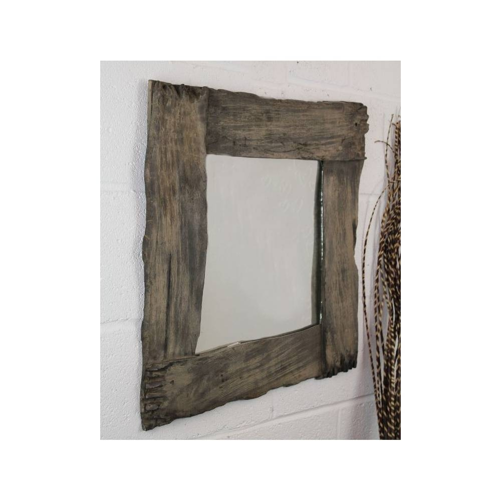 Awesome Ornamental Mirrors #5: 80Cm-Fairtrade-Solid-Wooden-Rustic inside Ornamental Mirrors (Image 6 of 25)