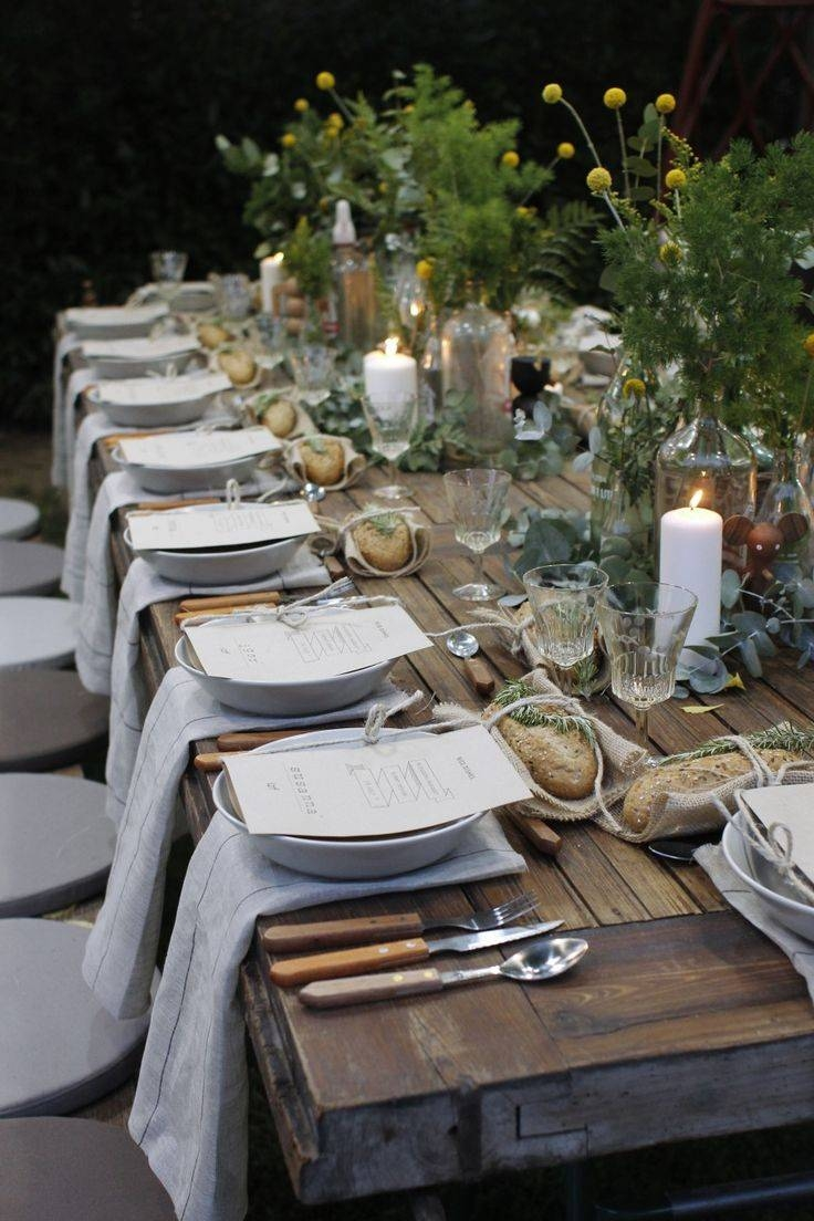 Awesome Secret Garden Outdoor Christmas Party Decor Feat Endearing Pertaining To Rustic Coffee Table Decors