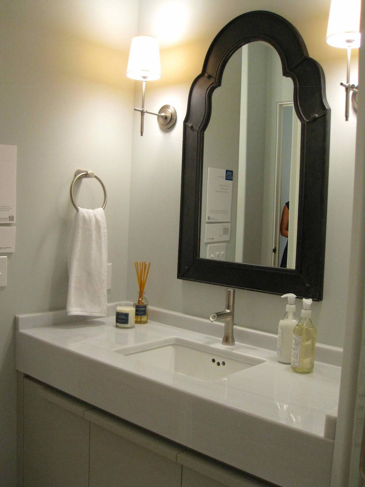 Awesome Small Bathroom Mirrors Small Bathroom Mirrors. Spacious in Bright Coloured Mirrors (Image 11 of 25)