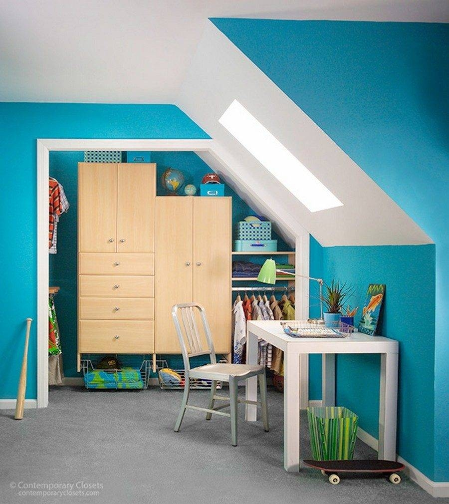 Awesome Wardrobes With Shelves For Sloping Ceilings | Nytexas with Wardrobes With Shelves (Image 1 of 30)
