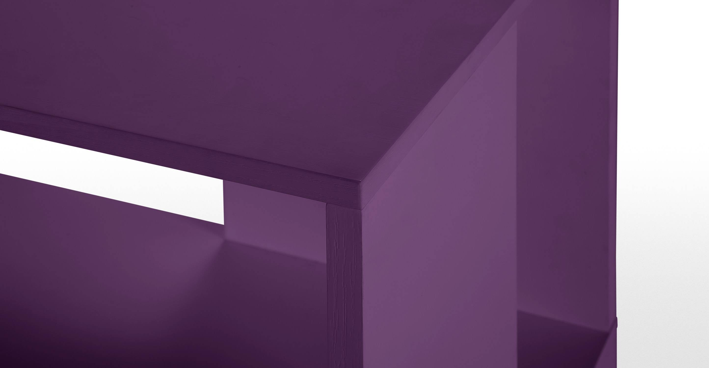 Axis Sideboard In Purple Lacquer | Made for Purple Sideboards (Image 3 of 30)