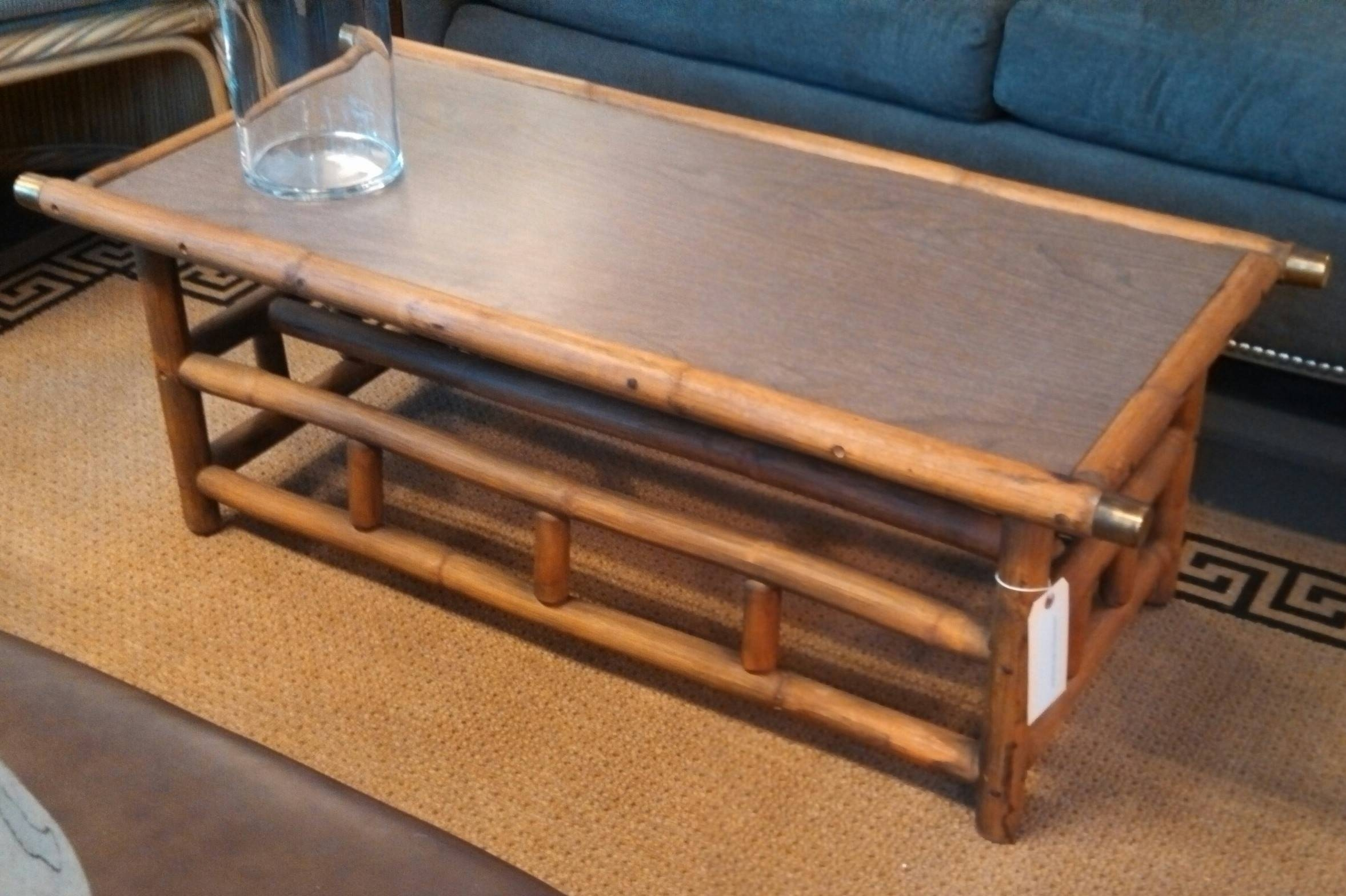 Bamboo Coffee Table | Interior Decor Ideas intended for Gold Bamboo Coffee Tables (Image 8 of 30)