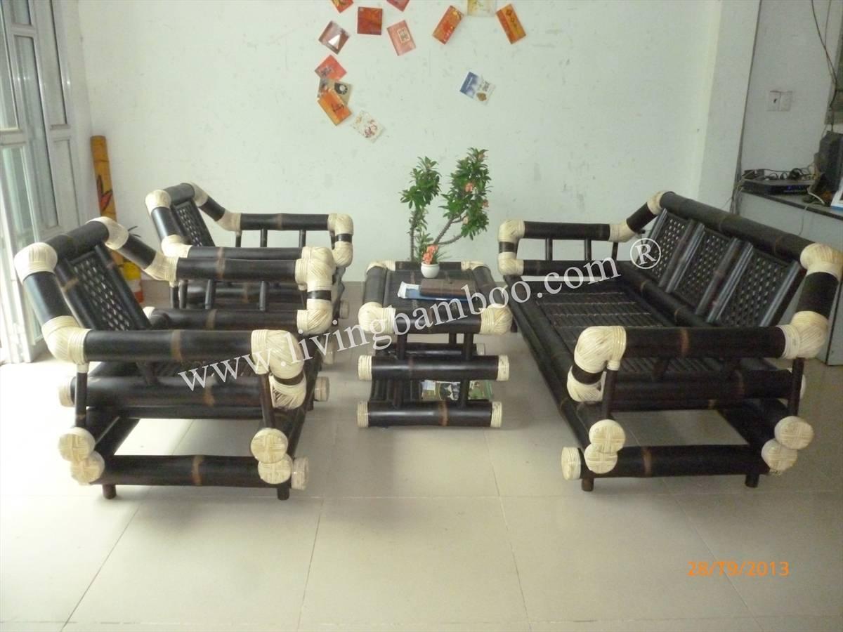 Bamboo Living Room regarding Bambo Sofas (Image 4 of 30)