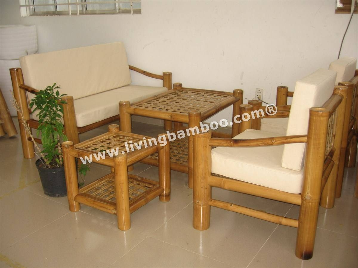 Bamboo Living Room throughout Bambo Sofas (Image 5 of 30)