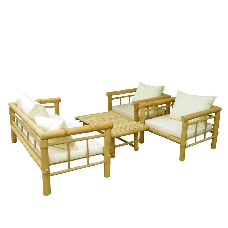 Bamboo Sofa Set – Thesofa within Bambo Sofas (Image 8 of 30)