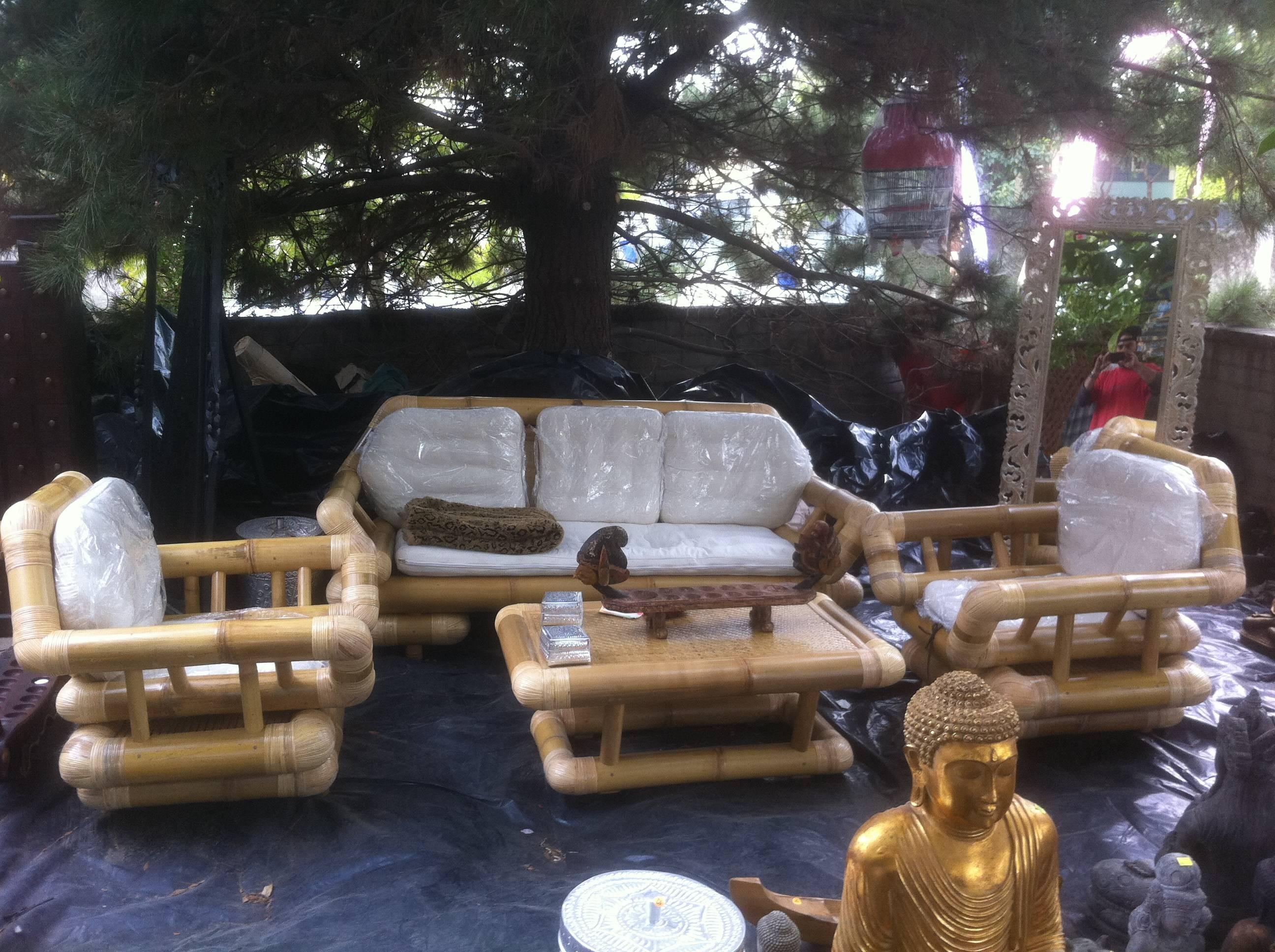 Bamboo Sofa With Design Ideas 6334 | Kengire regarding Bambo Sofas (Image 10 of 30)