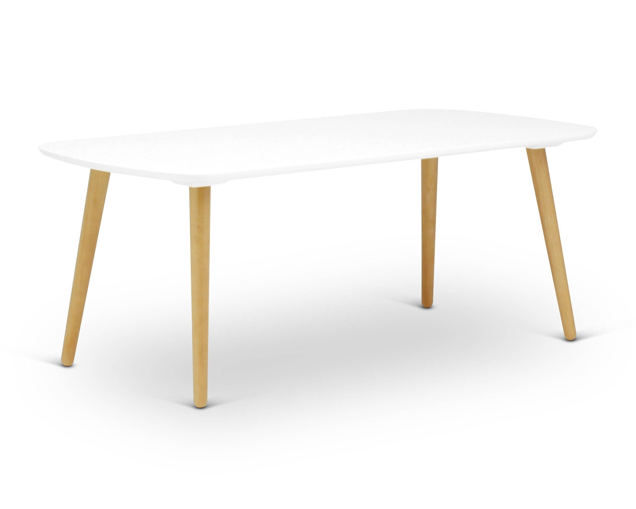 Banji High White - Coffee Table | Loungelovers throughout White and Oak Coffee Tables (Image 3 of 30)