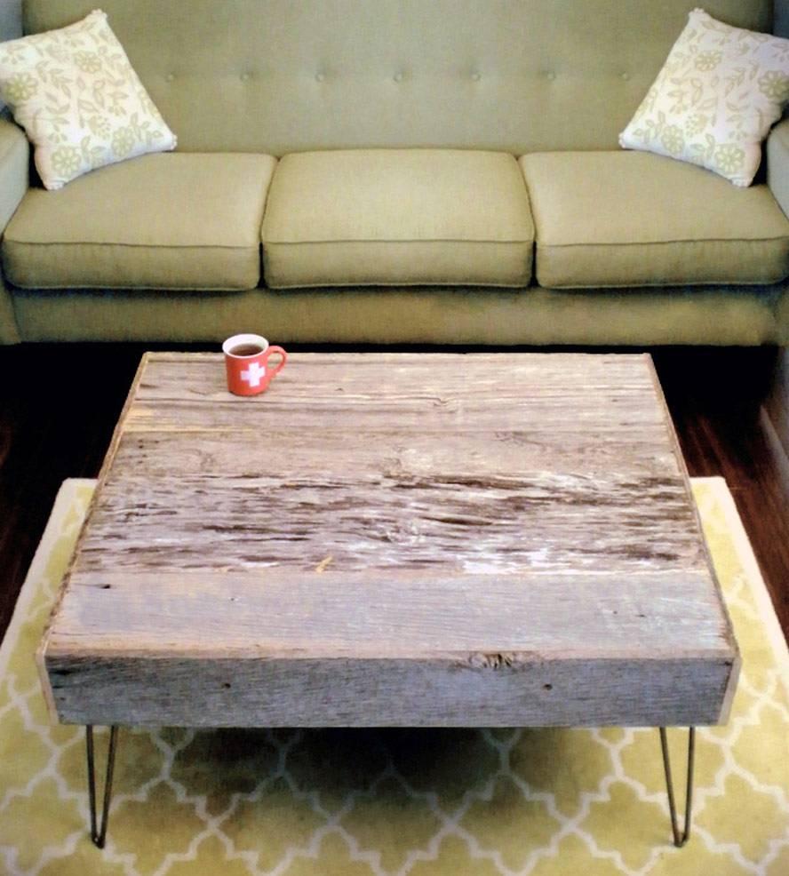 Barnwood Coffee Table | Inactive Americana | Modern Arks pertaining to Rustic Barnwood Coffee Tables (Image 2 of 30)