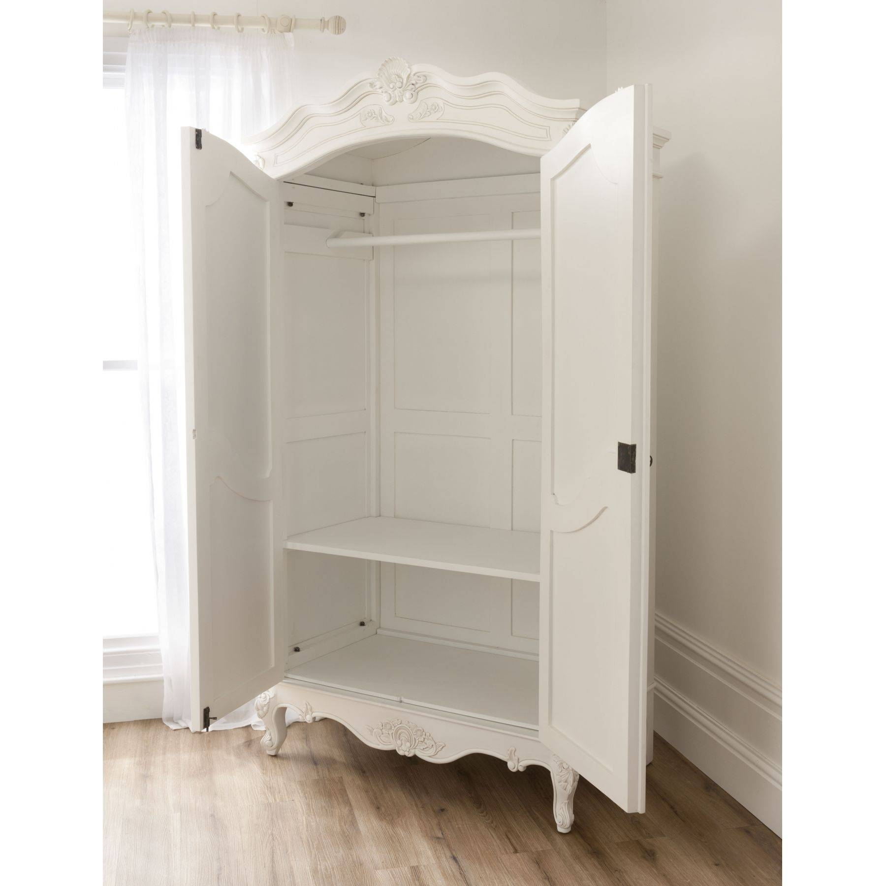 Baroque Antique French Wardrobe Is Available Online From in White Wardrobes French Style (Image 1 of 15)