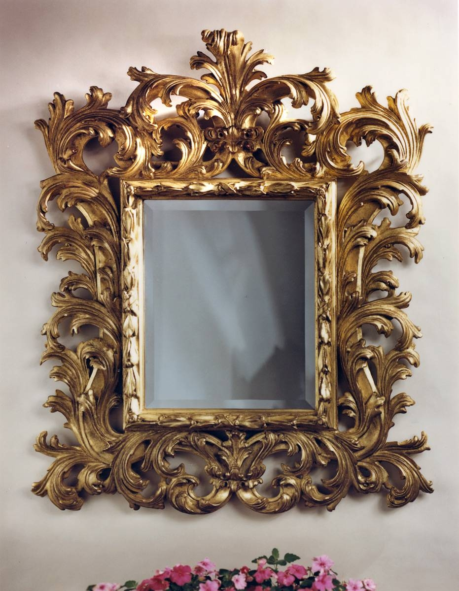 Baroque Mirror | Carvers' Guild within Large Baroque Mirrors (Image 5 of 25)