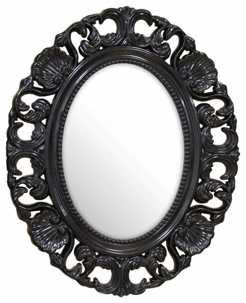 Baroque Wall Mirror | Office In Cloud pertaining to Black Baroque Mirrors (Image 7 of 25)