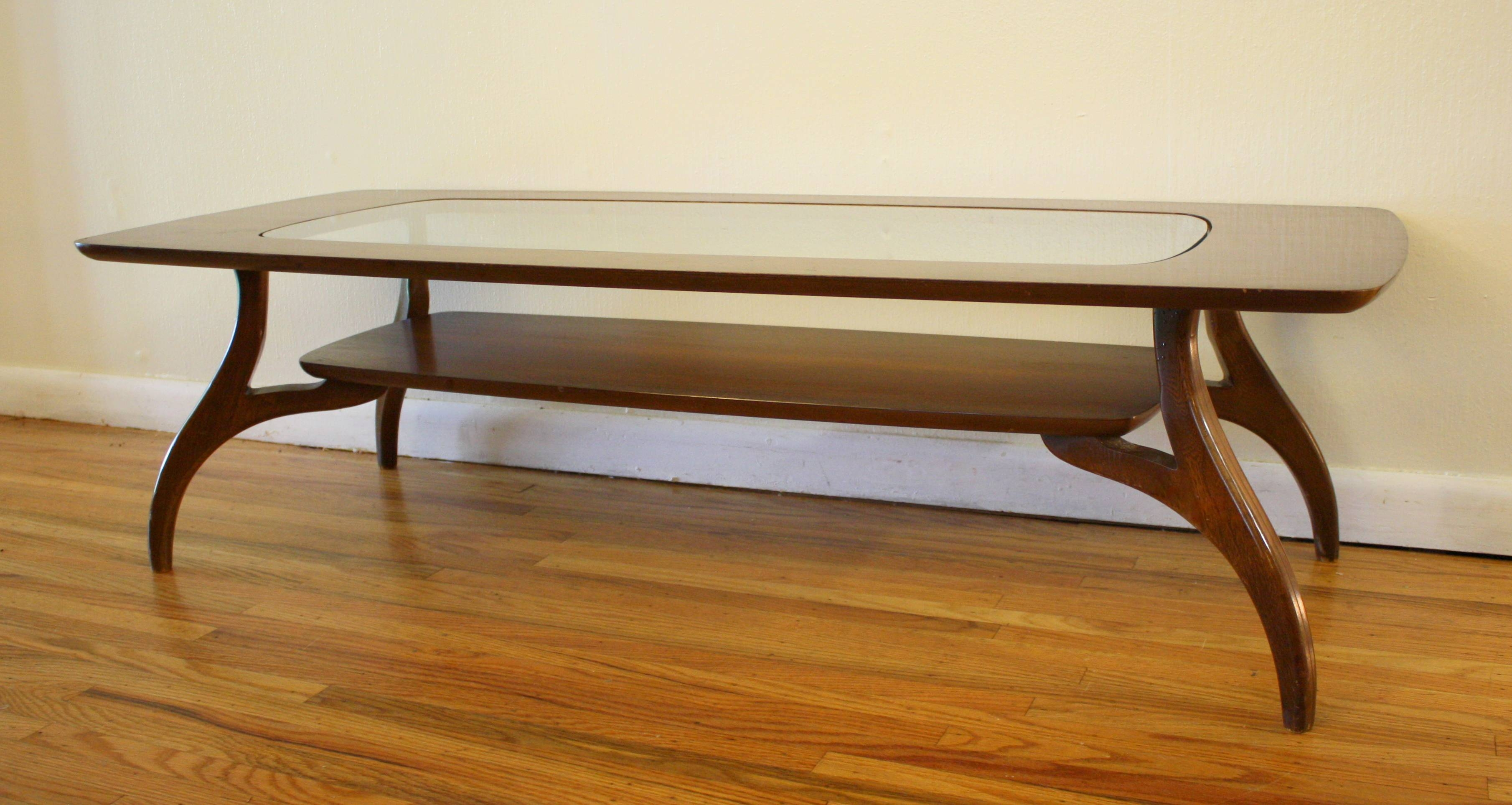 Bassett Coffee Table | Picked Vintage pertaining to Retro Glass Coffee Tables (Image 8 of 30)