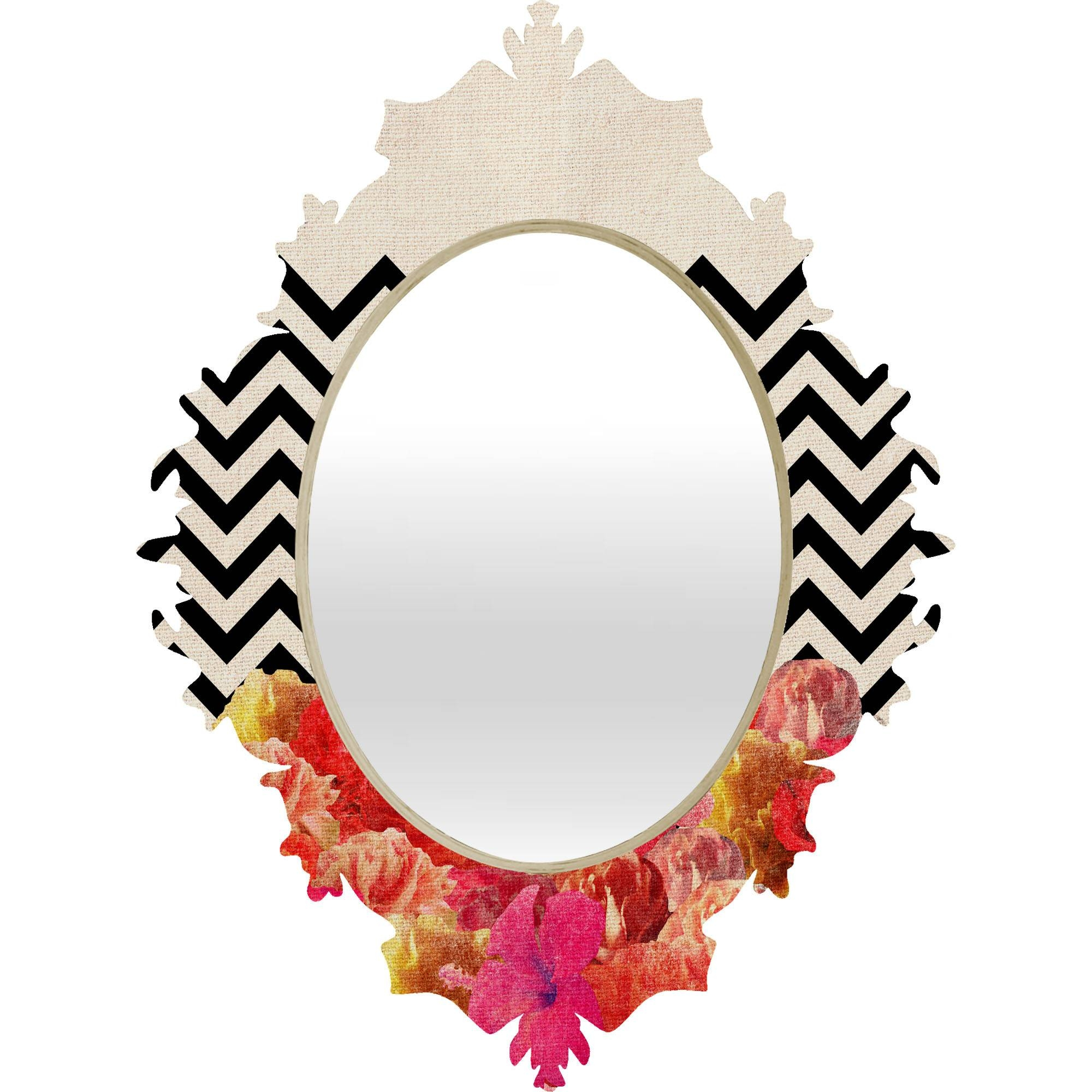 Bathroom: Astounding Baroque Mirror With Unique Frame For Bathroom inside White Baroque Mirrors (Image 5 of 25)