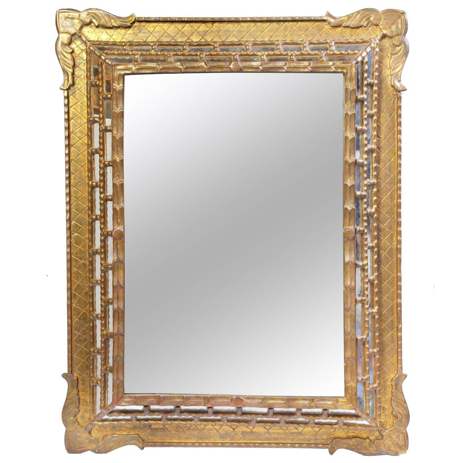 Bathroom: Astounding Baroque Mirror With Unique Frame For Bathroom pertaining to Gothic Style Mirrors (Image 12 of 25)