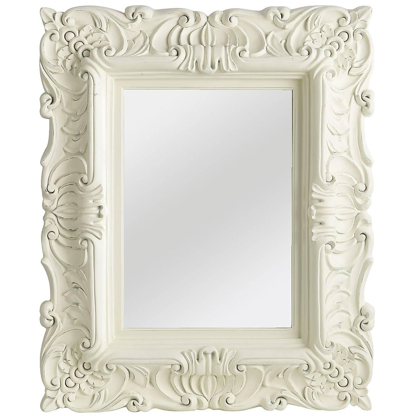 Bathroom: Astounding Baroque Mirror With Unique Frame For Bathroom with Cheap Baroque Mirrors (Image 11 of 25)