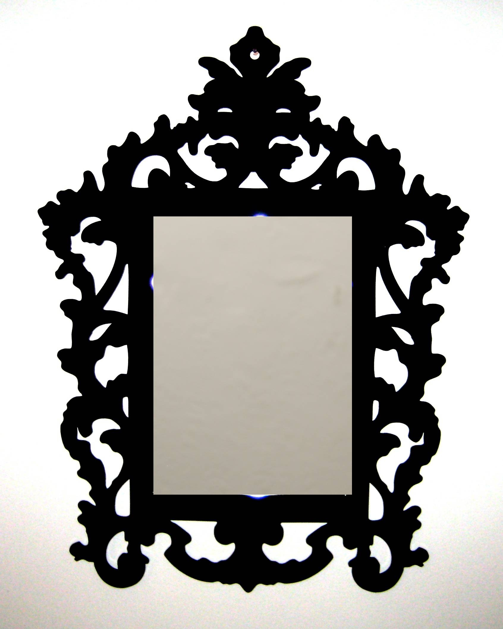 Bathroom: Astounding Baroque Mirror With Unique Frame For Bathroom within Black Baroque Mirrors (Image 9 of 25)