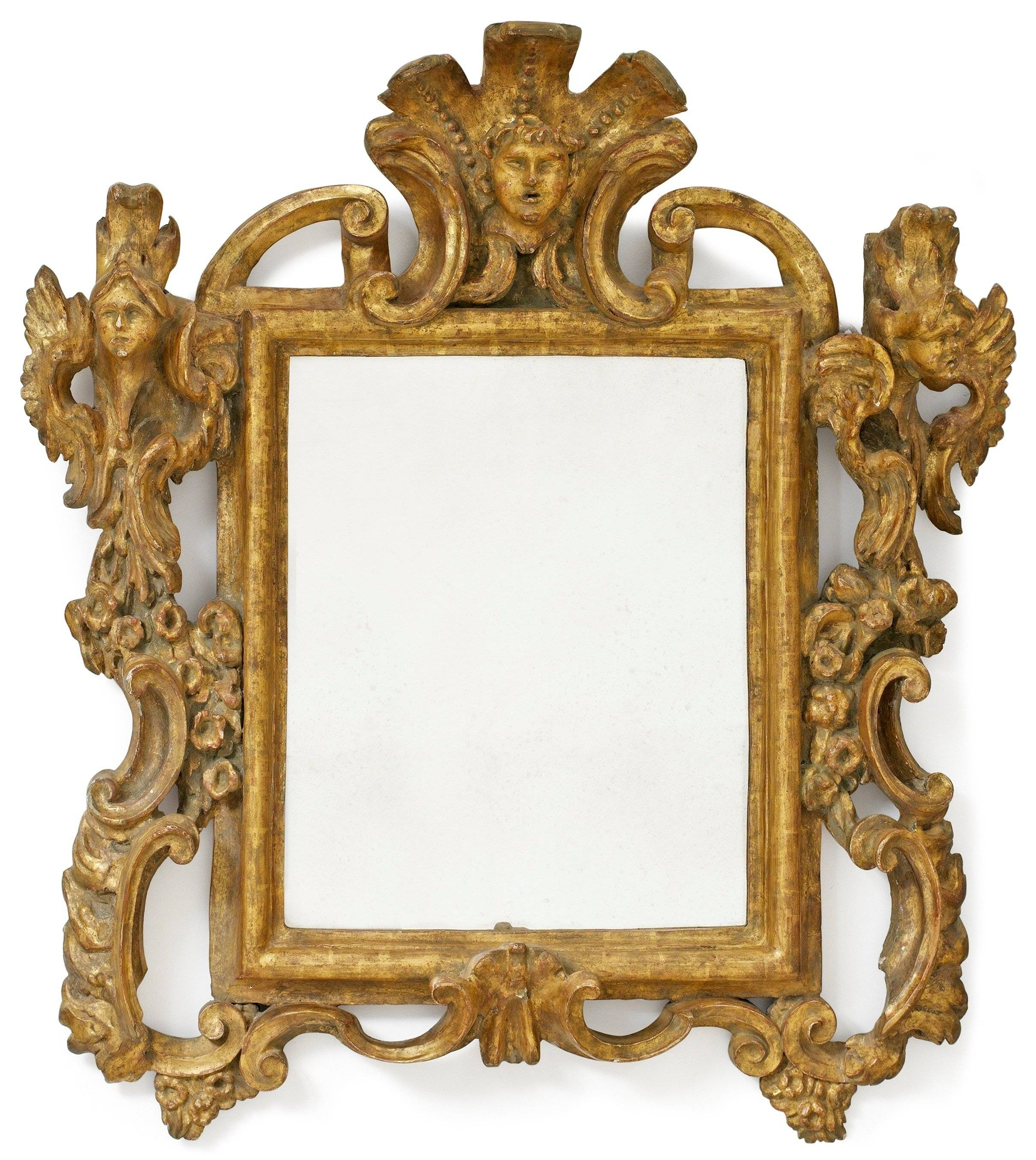 Bathroom: Astounding Baroque Mirror With Unique Frame For Bathroom within Large Baroque Mirrors (Image 10 of 25)