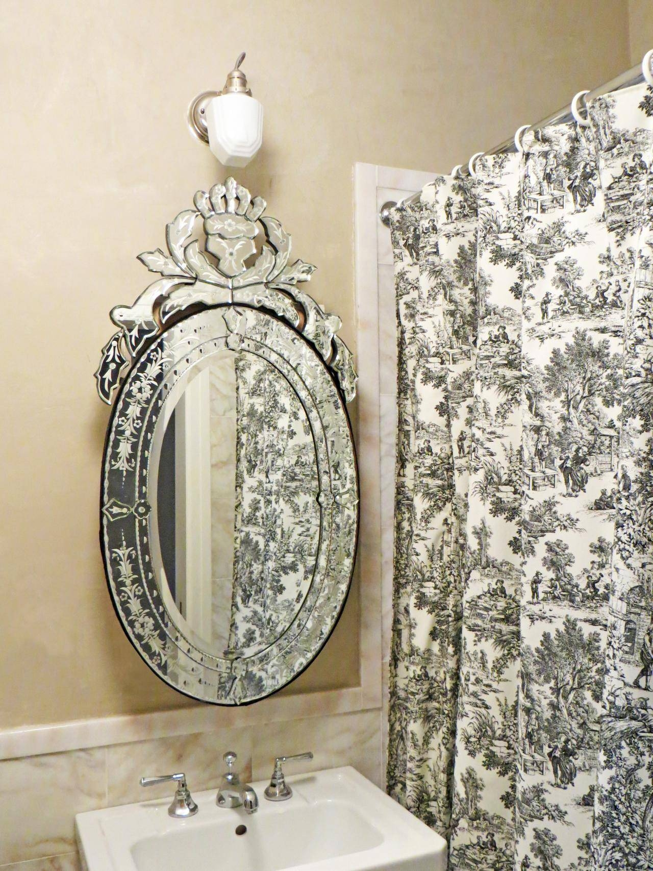 Bathroom: Bronze Framed Mirror | Oval Mirrors For Bathroom | Oval within Venetian Bathroom Mirrors (Image 8 of 25)