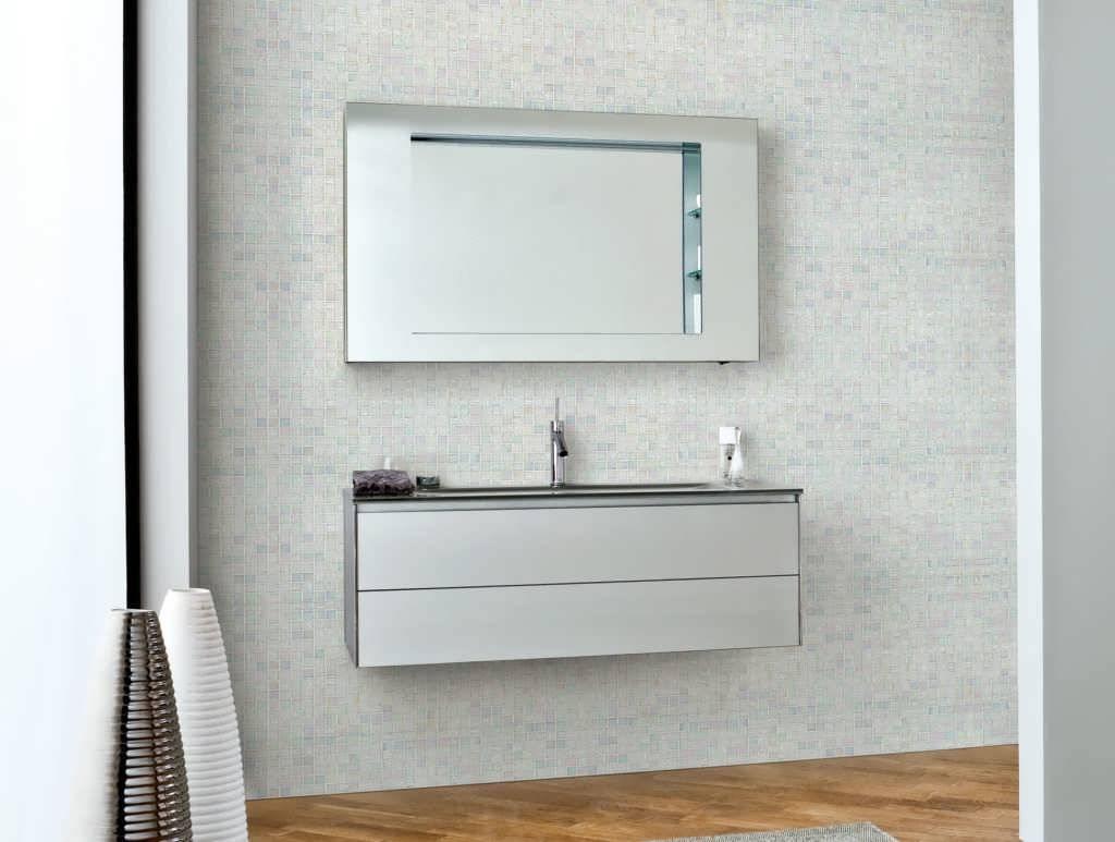 Bathroom : Commercial Mirrors Art Deco Bathroom Mirror Lowes for Deco Bathroom Mirrors (Image 8 of 25)