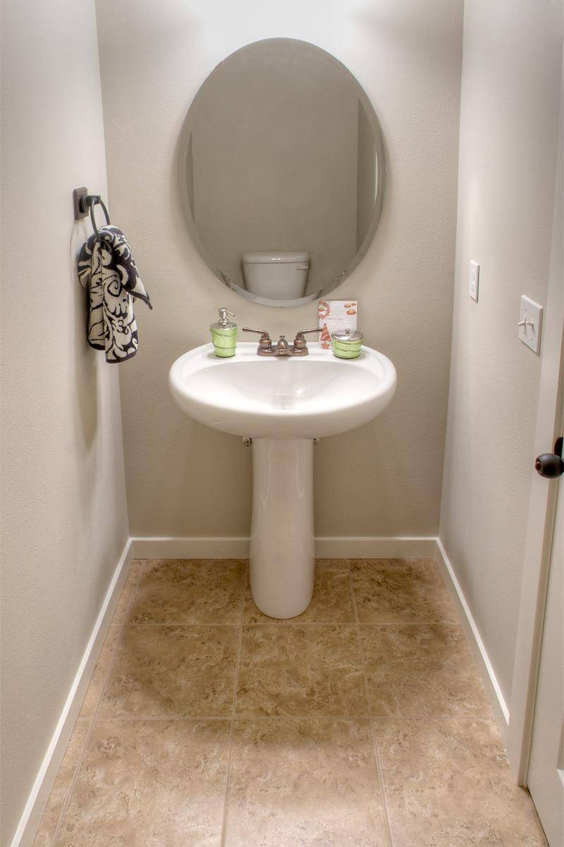 Bathroom. Divine Bathroom Decorating Ideas Using Powder Room in Free Standing Oval Mirrors (Image 5 of 25)