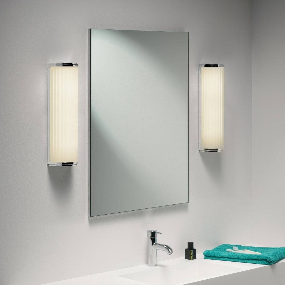 Bathroom: Exciting Lowes Bathroom Mirror For Bathroom Decoration pertaining to Silver Rectangular Bathroom Mirrors (Image 3 of 25)