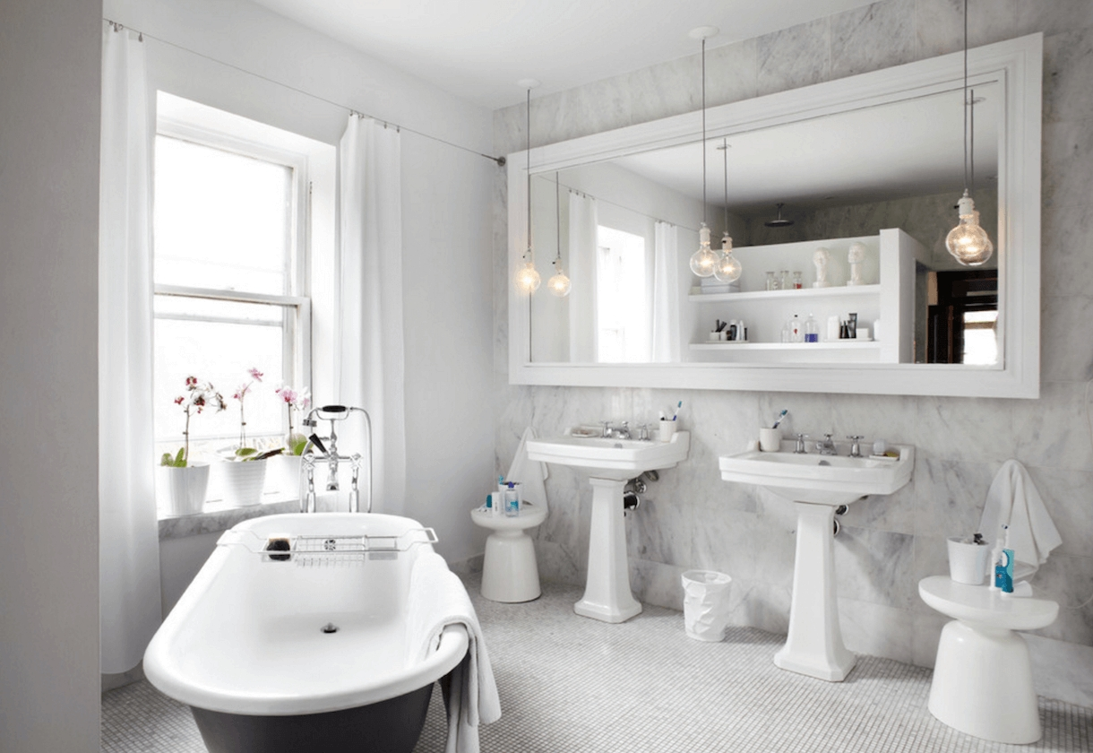Bathroom : Framed Bath Mirror Standard Sizes White Oval Bathroom regarding White Oval Bathroom Mirrors (Image 1 of 25)