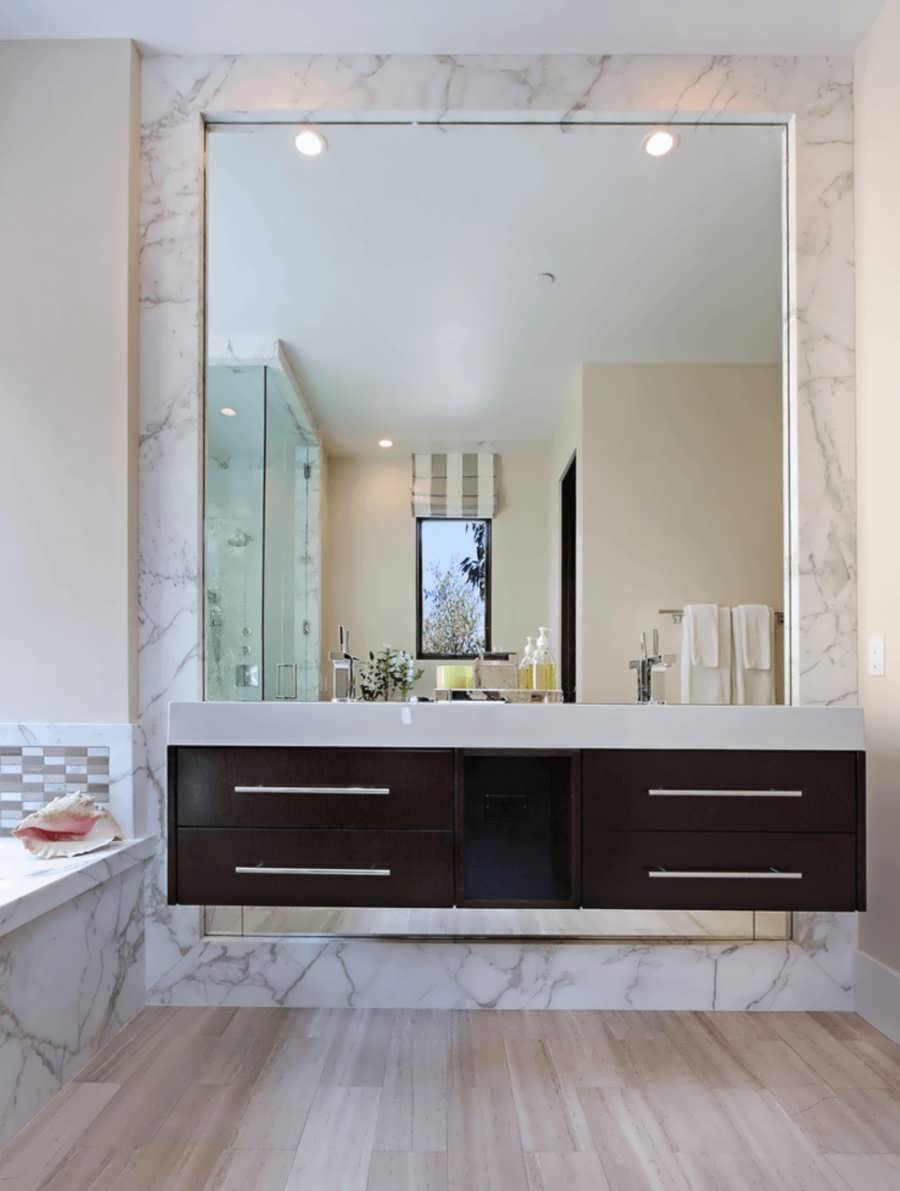 Bathroom : Framed White Bathroom Mirrors White Framed Oval regarding White Oval Bathroom Mirrors (Image 3 of 25)