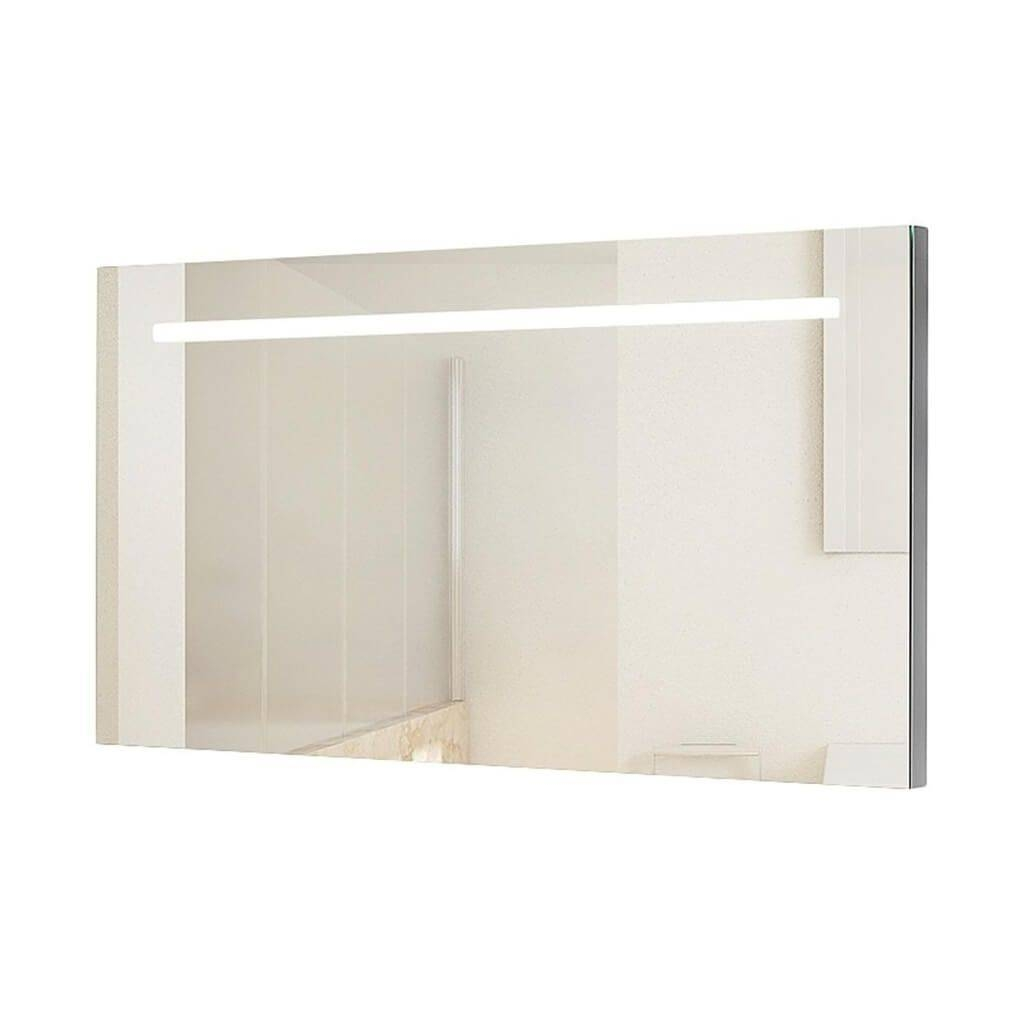 Bathroom: Large Bathroom Mirror For Your Next Redesign Plans pertaining to Large No Frame Mirrors (Image 3 of 25)