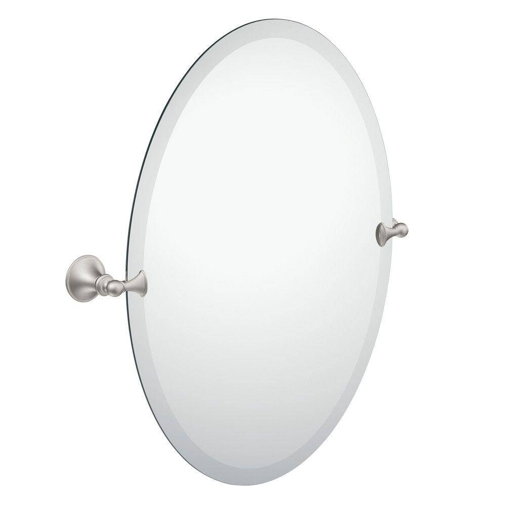 Bathroom Mirrors - Bath - The Home Depot inside White Oval Bathroom Mirrors (Image 10 of 25)
