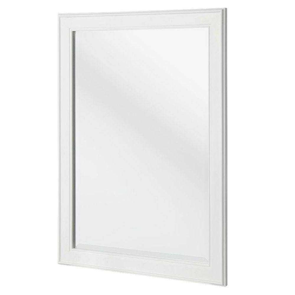 Bathroom Mirrors - Bath - The Home Depot intended for White Metal Mirrors (Image 2 of 25)