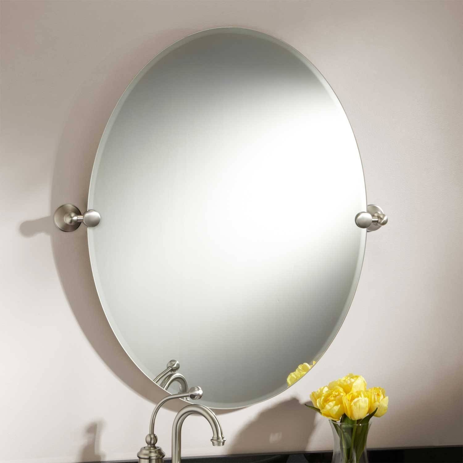 Bathroom : Rustic Bathroom Mirror With Unusual Frame Design with regard to Unusual Shaped Mirrors (Image 3 of 25)