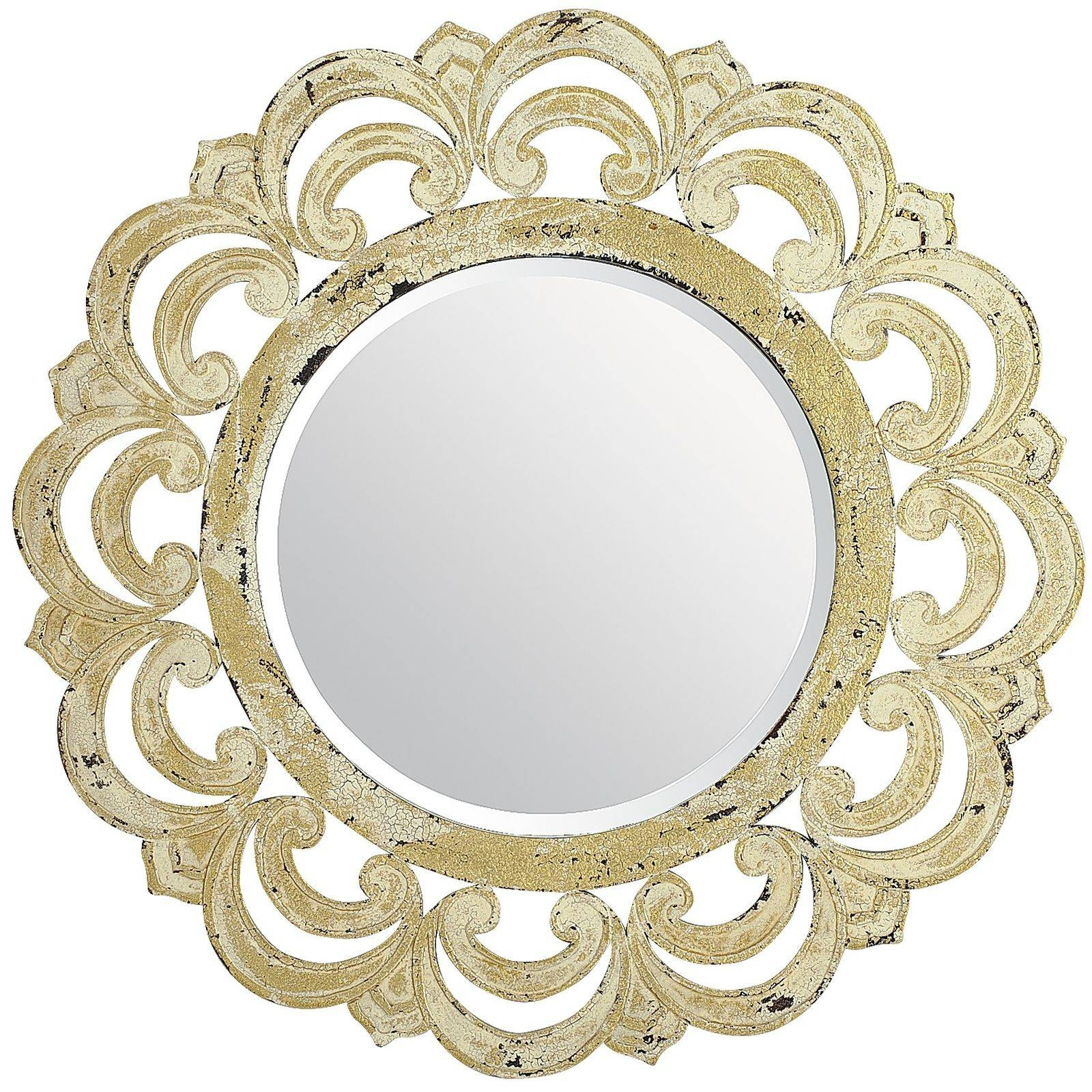 Featured Photo of Ivory Ornate Mirrors