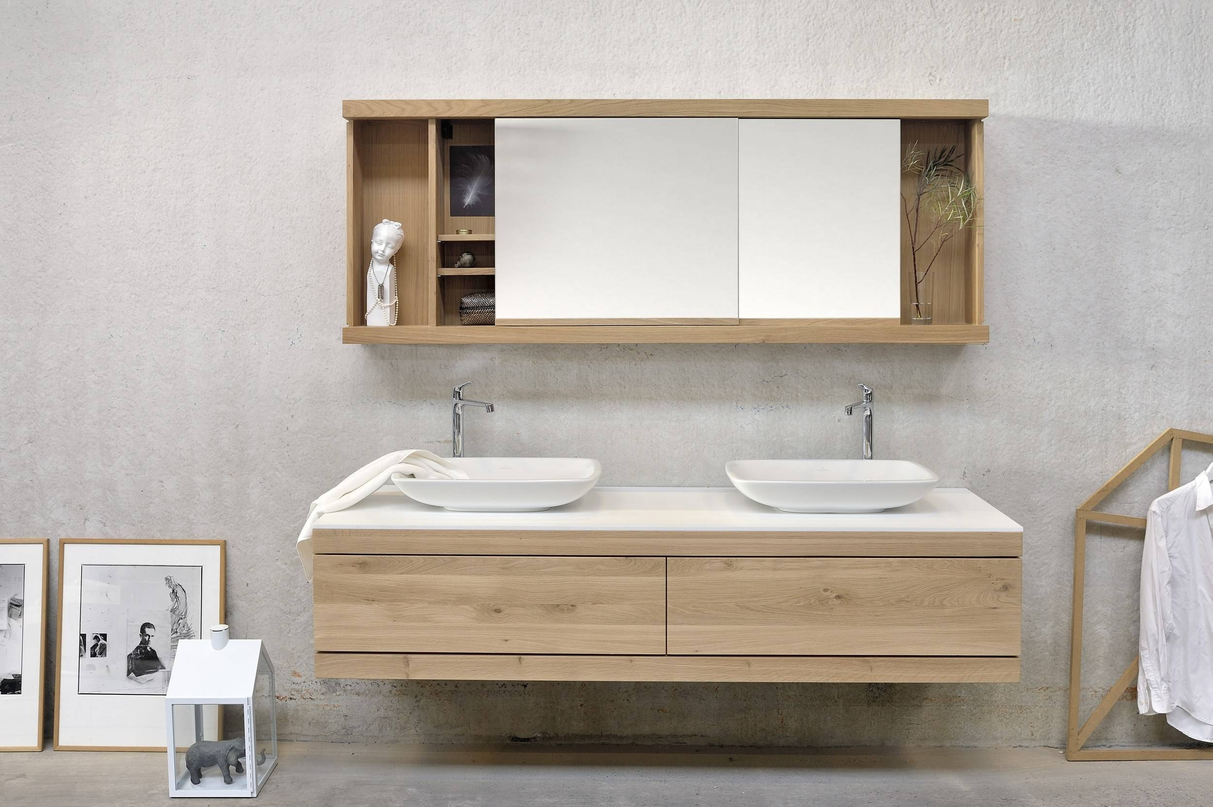 Bathroom : White Recessed Medicine Cabinet Unusual Floral with regard to Unusual Mirrors For Bathrooms (Image 15 of 25)