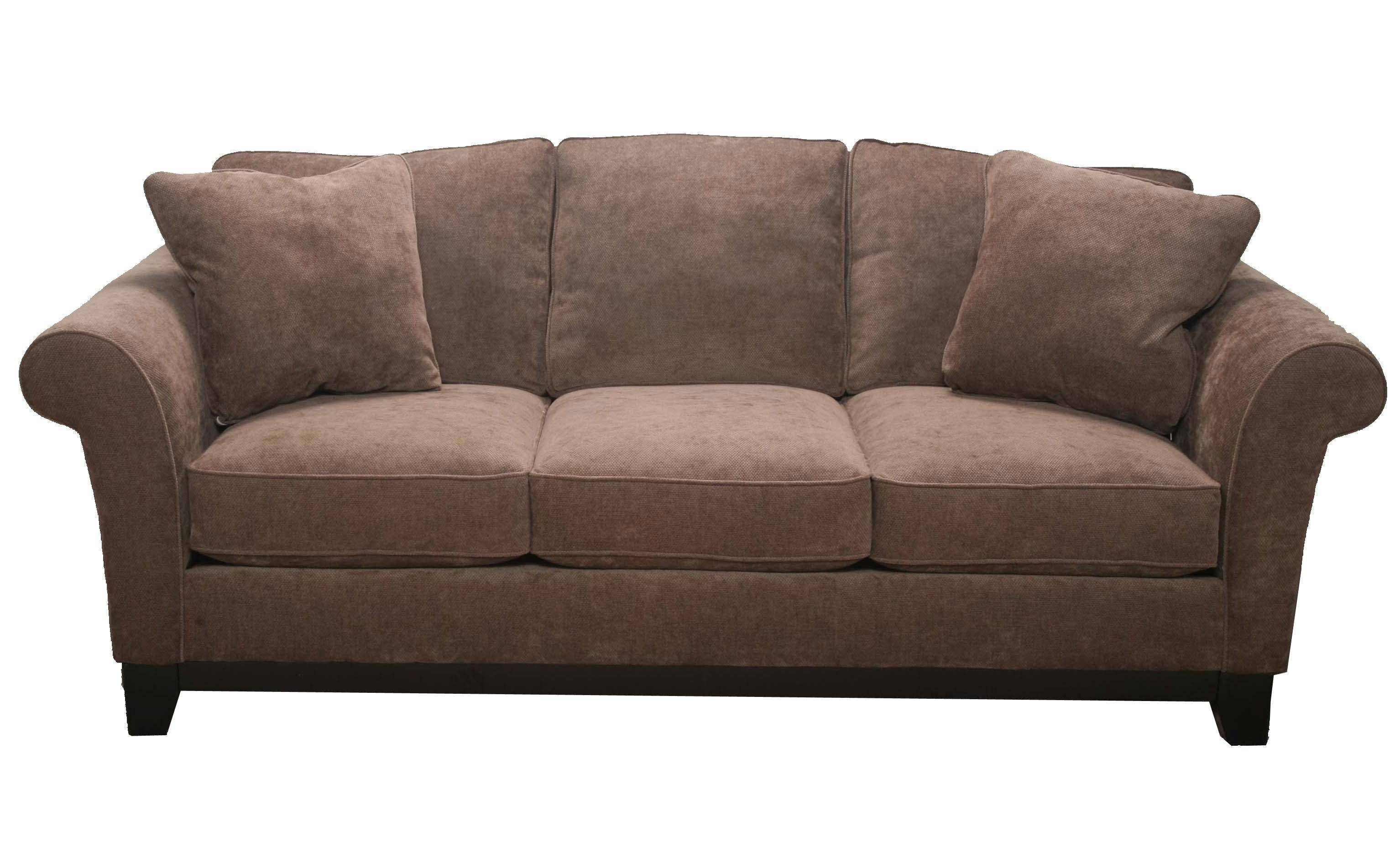Bauhaus 33Sma Transitional Contemporary Plush Queen Sofa Sleeper regarding Bauhaus Sleeper Sofa (Image 9 of 30)