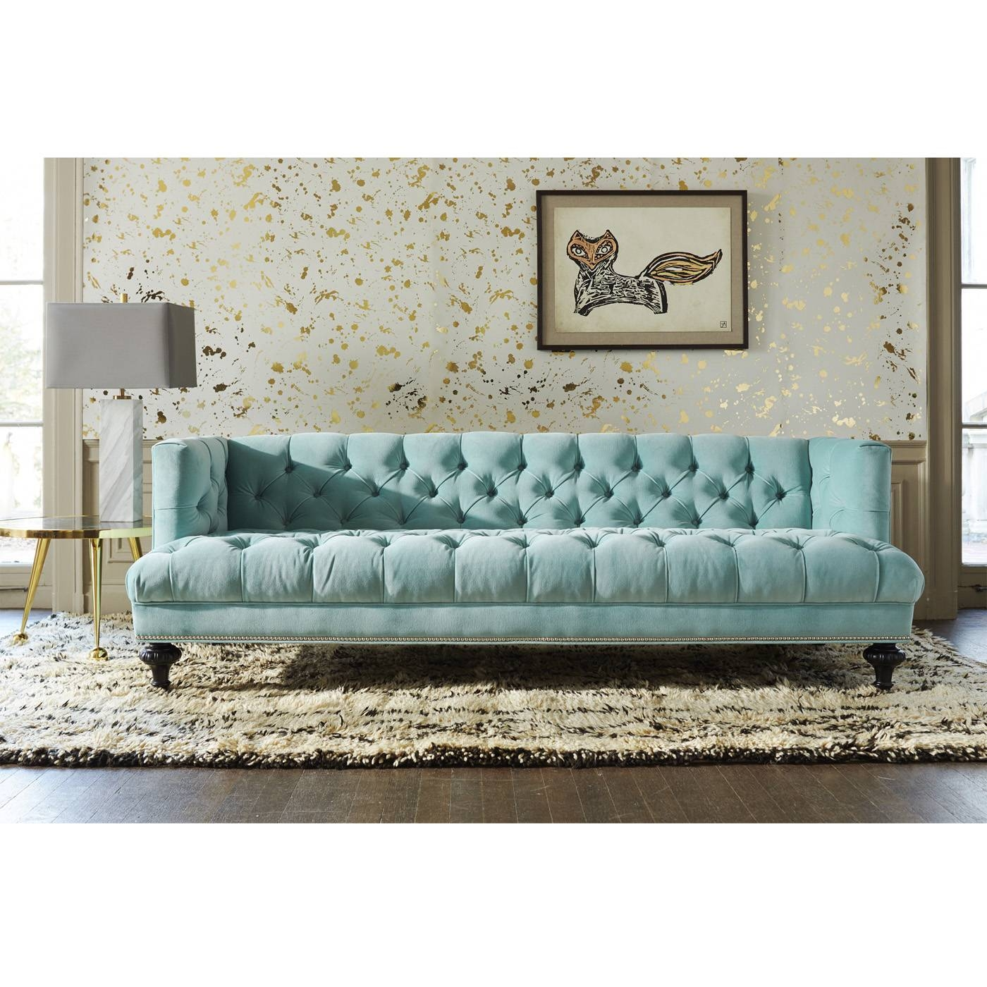 Baxter T-Arm Sofa | Modern Furniture | Jonathan Adler with regard to Jonathan Sofa (Image 3 of 25)