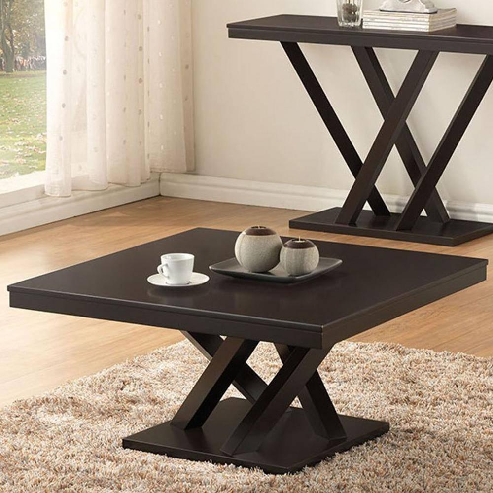 Baxton Studio Everdon Dark Brown Coffee Table-28862-4968-Hd - The inside Dark Brown Coffee Tables (Image 3 of 30)