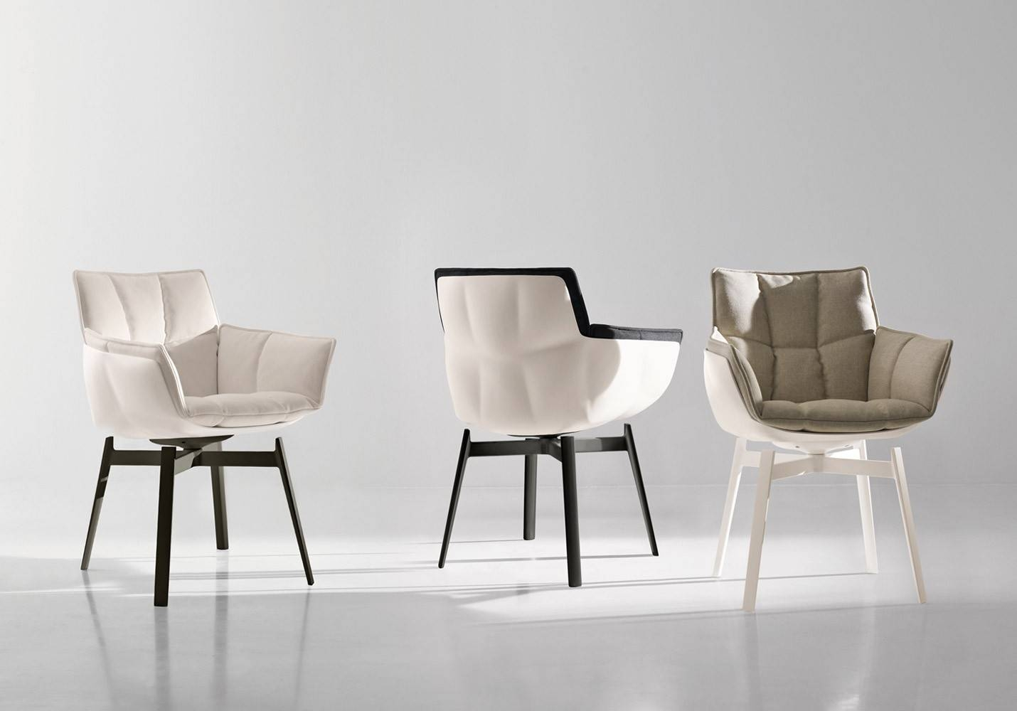 B&b Italia - Husk Small Arm Chair - Arm Chairs - Chairs - Products within Small Arm Chairs (Image 4 of 30)