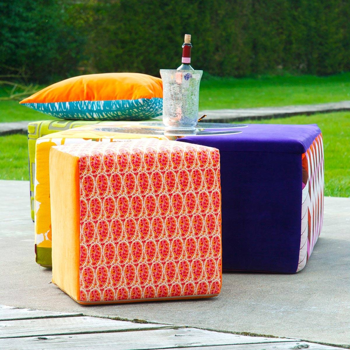 Beautiful And Eye-Catching Footstools And Pouffes - Crushcube with regard to Footstools and Pouffes (Image 1 of 30)